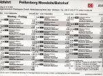 Pbg., Moosleite/Bahnhof, Richtung WM, Mo.-Fr. Teil 1